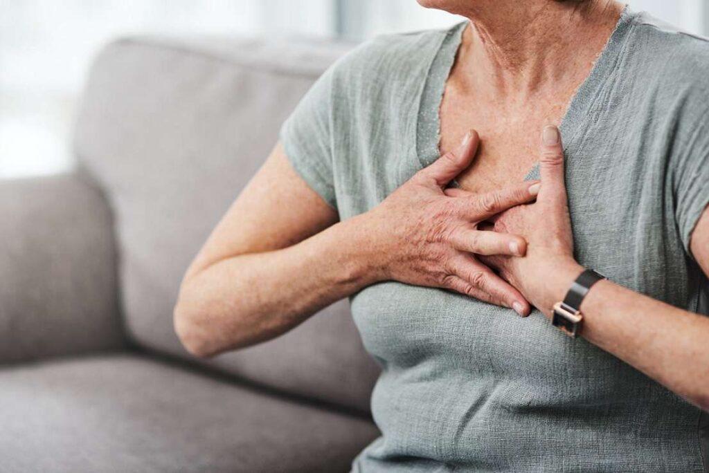 عوارض تپش قلب