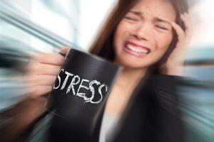 استرس و درد قلب