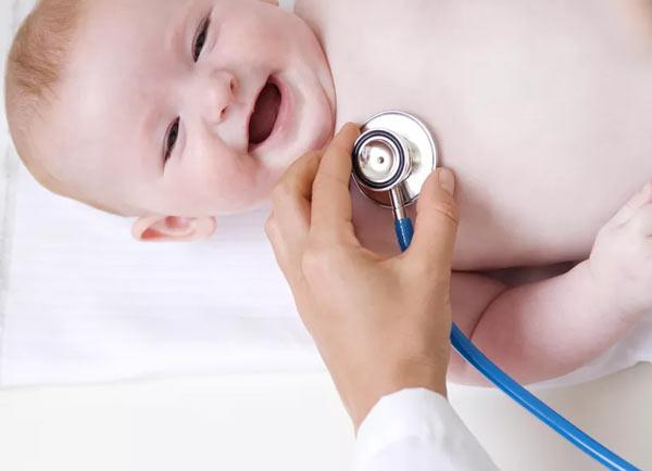 ضربان نرمال قلب در نوزادان