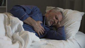 درد قفسه سینه در خواب