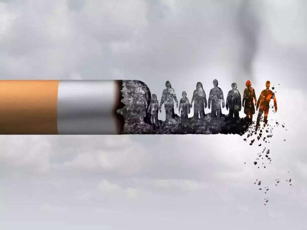 تاثیر دود سیگار بر اطرافیان